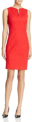 Elie Tahari Natanya Sheath Dress $248 thestylecure.com
