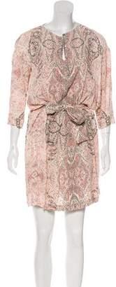 See by Chloe Paisley Print Mini Dress