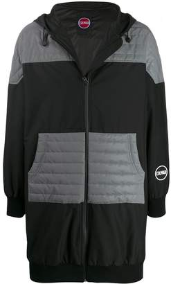 Colmar A.G.E. By Shayne Oliver long quilted panel jacket