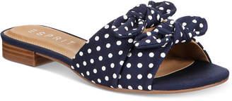 Esprit Kenya Slip-On Flat Sandals Women's Shoes
