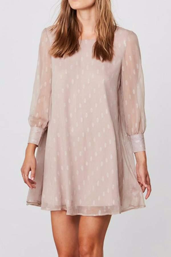 BB Dakota Crepe Shimmer Dress