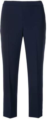 Theory classic cropped trousers