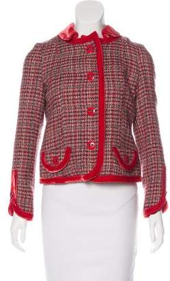 Marc Jacobs Wool Tweed Jacket