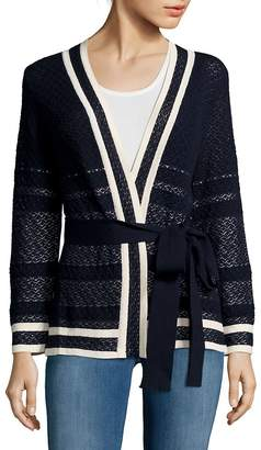 Carolina Herrera Women's Crochet Cardigan