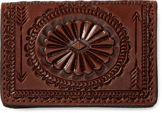 Ralph Lauren Hand-Tooled Leather Wallet