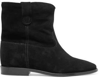Isabel Marant étoile Crisi Suede Ankle Boots - Black