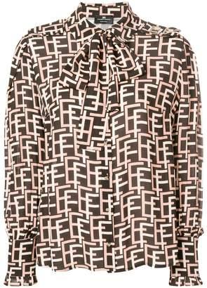 Elisabetta Franchi geometric print shirt