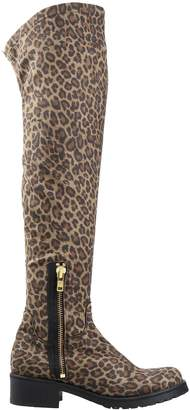 Manila Grace DENIM Boots - Item 11561735PW