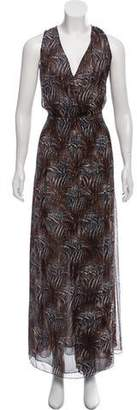 Magaschoni Printed Maxi Dress