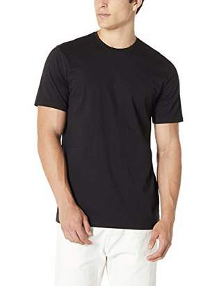 Isle Bay Linens Men's 100% Cotton Standard-Fit Short Sleeve Crewneck T-Shirt