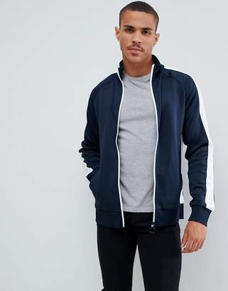 Jack and Jones Originals Tracksuit Top With Arm Stripe