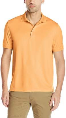 G.H. Bass Men's Short Sleeve Explorer Fish Tale Mesh Polo