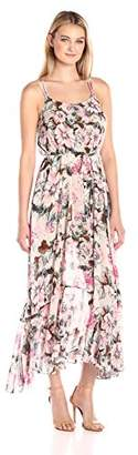 Plenty by Tracy Reese Women's Flounce Hem Maxi Dress