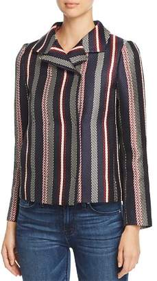 Paule Ka Striped Jacquard Jacket