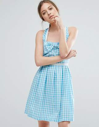 Trollied Dolly Gingham Sundress $60 thestylecure.com