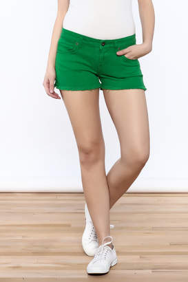 Rich & Skinny Green Venice Shorts