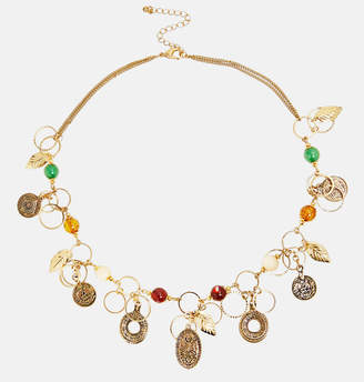 Avenue Gold Ring Autumn Necklace