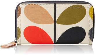 Orla Kiely Stem Big Zip Wallet