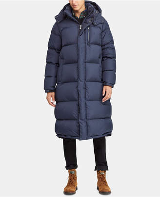 Polo Ralph Lauren Men Hooded Ripstop Down Coat