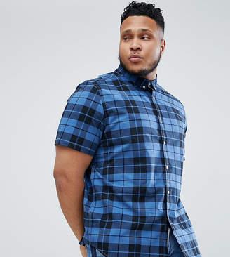 Asos Design Plus Skinny Check Shirt