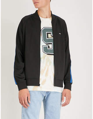Stussy Side-stripe jersey track jacket