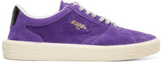 Golden Goose Purple Tenth Star Sneakers