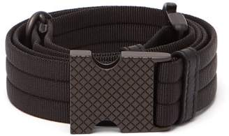 Bottega Veneta Car Buckle Belt - Mens - Black