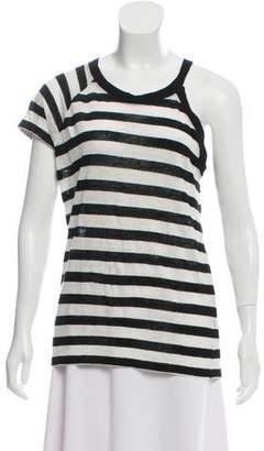 IRO Striped Knit Top