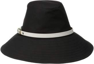 Physician Endorsed Women's Brookline Fedora Sun Hat with Belt Trim Rated UPF 50+ for Max Sun Protection
