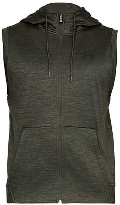 Under Armour Men's Armourfleece Sleeveless Full-Zip Hoodie