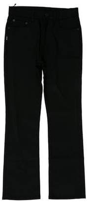 Proenza Schouler Mid-Rise Straight-Leg Jeans w/ Tags