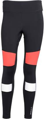 Reebok Womens Speedwick Colour Block Tight Leggings Black/White/Red