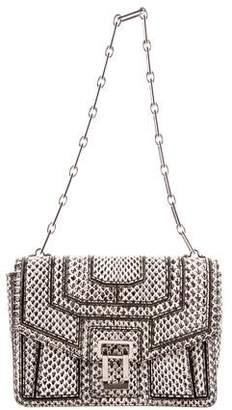 Proenza Schouler Snakeskin Chain-Link Shoulder Bag