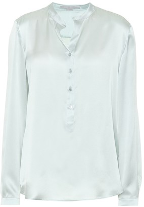 Stella McCartney Silk satin blouse