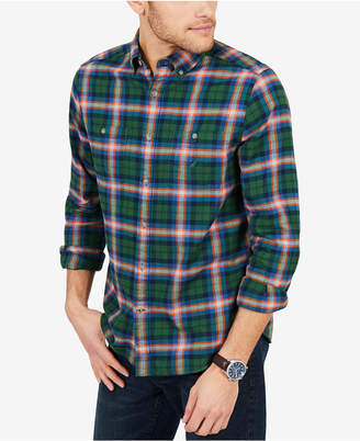 Nautica Men Classic Fit Plaid Flannel Shirt