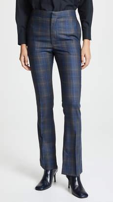 Toga Pulla Wool Check Vent Pants