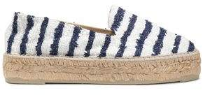 Manebi Striped Bouclé-Tweed Espadrilles