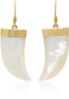 Annette Ferdinandsen M'O Exclusive Tiger Claw Mother Of Pearl Earring