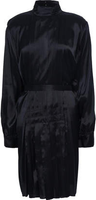 By Malene Birger Pleated Twill Dress