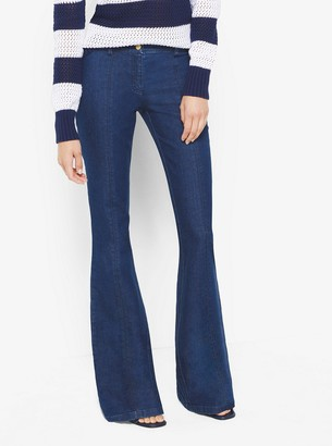 Michael Kors Seamed Flared Jeans