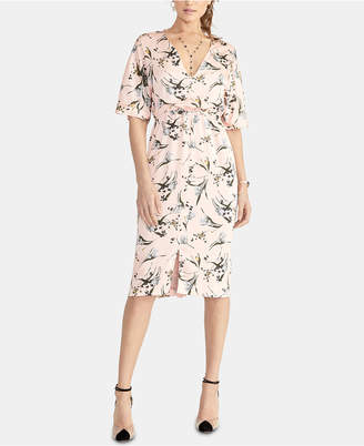 Rachel Roy Cait Cinched-Waist Dress