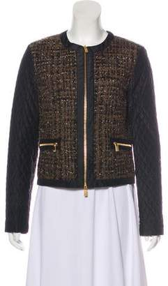 Michael Kors Tweed Quilted Jacket