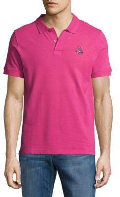 Embroidered Cotton Polo $55 thestylecure.com