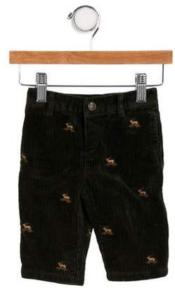 Ralph Lauren Boys' Embroidered Corduroy Pants