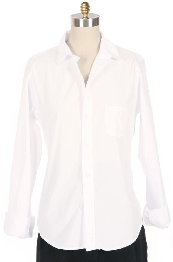 GITMAN BROTHERS SISTERS White Button Down Shirt