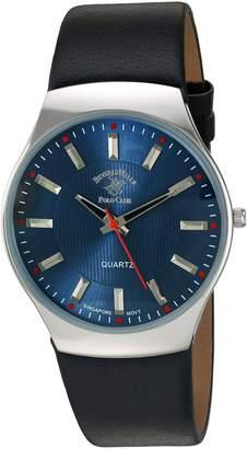Beverly Hills Polo Club US Men's ' Quartz Metal Automatic Watch, Color:Black (Model: 52797)