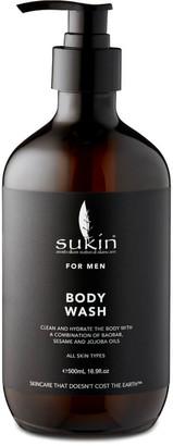 Sukin for Men Body Wash 500ml