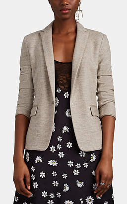Rag & Bone Women's Lexington Wool Jersey Snap-Front Blazer - Beige, Tan