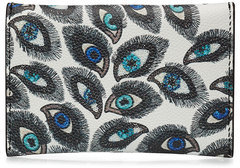 Alexander McQueen Alexander McQueen Printed Leather Card Holder