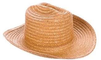 Eric Javits Straw Wide Brim Hat w/ Tags